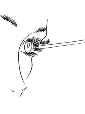 آموزش آرایشگر هالیوودی برای آرایش مژه ها