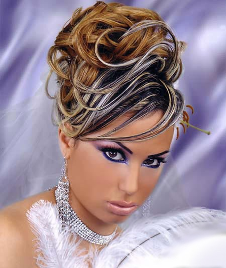 عکس آرایش عروس به سبک خلیجی