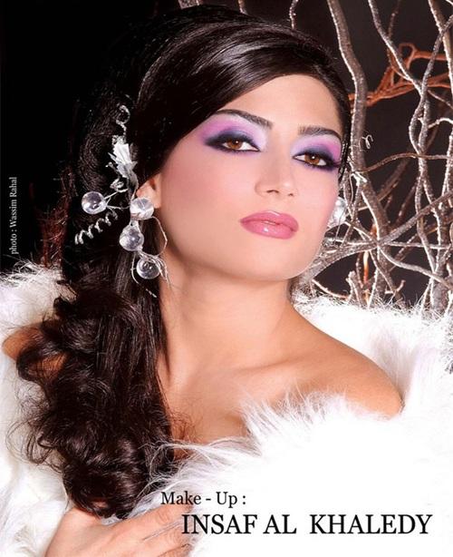 مدل  آرایش عروس خلیجی ، www.pixnaz.ir