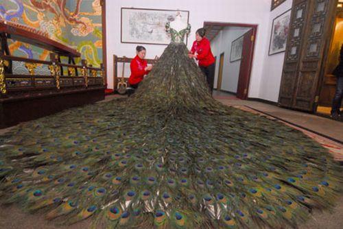 عکسی از لباس عروس 1.5 میلیون دلاری !!