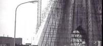 عکسهایی از آغاز ساخت برج میدان آزادی