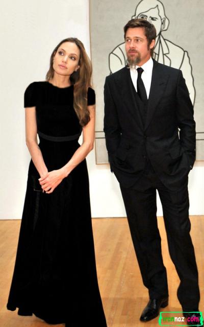 جدیدترین عکسهای آنجلینا جولی و براد پیت