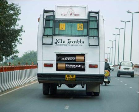 عکسهایی از تبلیغات بسیار زیبا و دیدنی روی اتوبوس