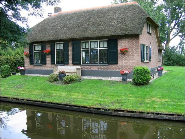 عکسهای دهکده ای بدون خیابان در هلند
