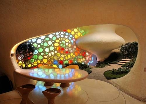 تصاویر زیبایی از خانه حلزونی