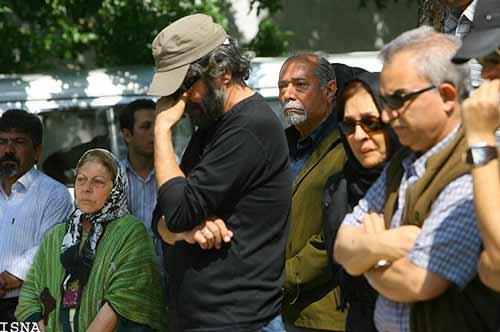 عکسهای مراسم خاكسپاری حمیده خیرآبادی