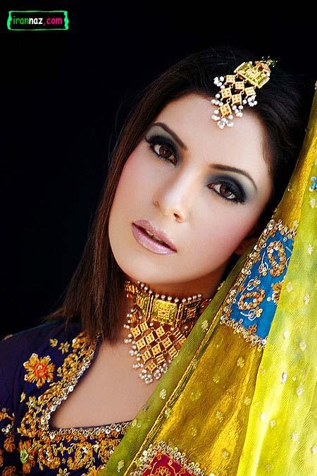 عکسهای مدلهای جدید آرایش هندی ، www.irannaz.com