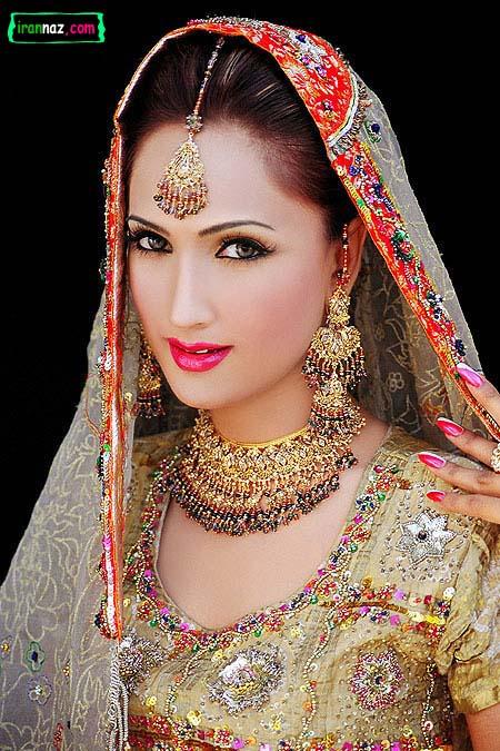 عکسهای مدلهای جدید آرایش هندی