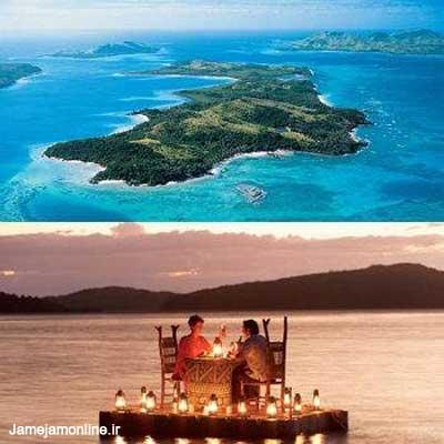عکسهایی از جزیره های بسیار زیبای اجاره ای