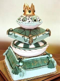 عکسهایی از کیکهای بسیار زیبای عقد