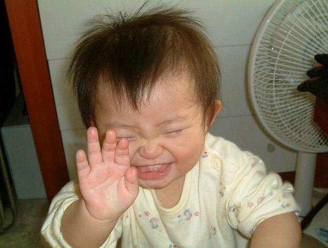 عکس های با مزه و خنده دار کودکان