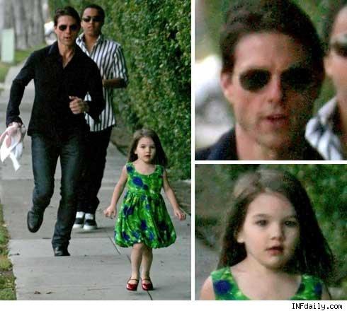 عکسهای بسیار زیبا از دختر تام کروز