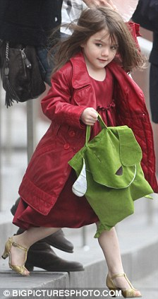 عکسهای بسیار زیبا از دختر تام کروز ، www.irannaz.com