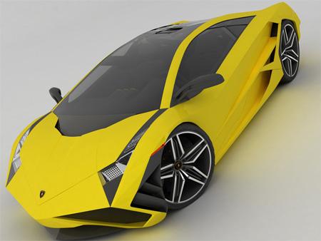 عکس های زیبا از ماشین جدید لامبورگینی ، www.irannaz.com
