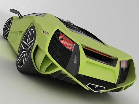 عکس های زیبا از ماشین جدید لامبورگینی