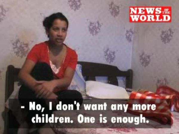 خانم 11 ساله بلغاری جوانترین مادر دنیا www.irannaz.com