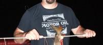 ماهیگیری با تیروکمان در کارولینای آمریکا