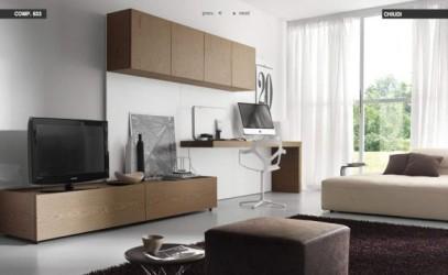 طراحی مدرن دکوراسیون منزل (تصویری)