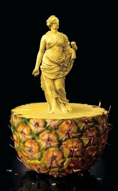 عکسهایی از هنر میوه تراشی www.irannaz.com