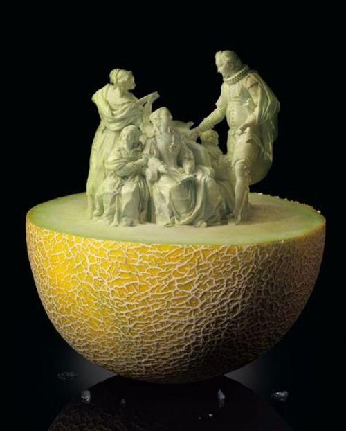 عکسهایی از هنر میوه تراشی