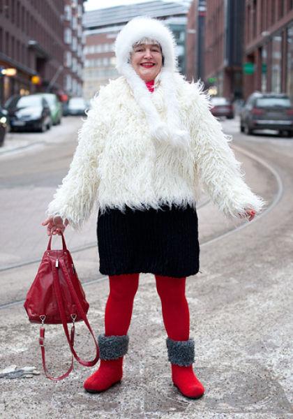 مدل های زیبای لباس در خیابان