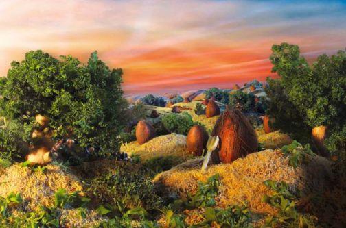 تابلوهای نقاشی با طعم میوه
