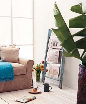 استفاده های جالب از نردبام در دکوراسیون منازل! ، www.irannaz.com