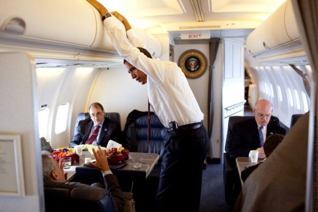 تصاویری از هواپیمای اوباما(رییس جمهور آمریکا) ، www.irannaz.com