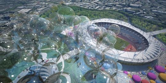طرحهای آزمایشی المپیک 2012 لندن(تصویری)