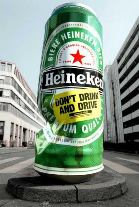 عکسهایی از تبلیغات مبتکرانه روی ستون ها