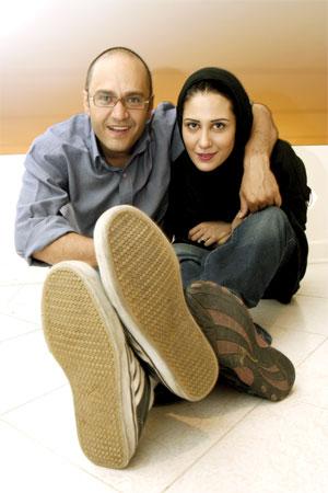 عکس شجریان و همسر اولش