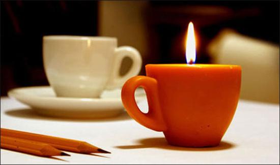 عکسهای شمع های فانتزی !