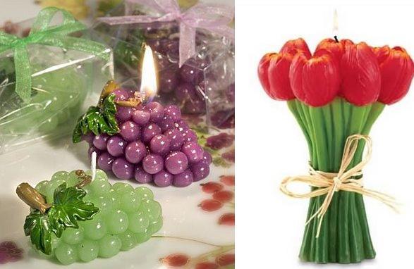 عکسهای شمع های فانتزی ! irannaz.com