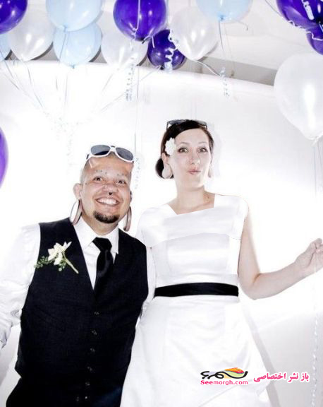 عکسهای مراسم ازدواج یک زوج شیطان پرست!!
