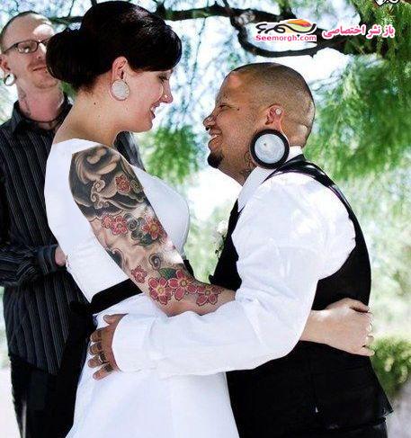 عکسهای مراسم ازدواج یک زوج شیطان پرست!! irannaz.com