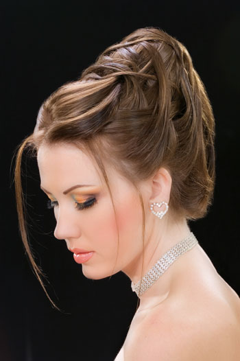 8 آموزش شینیون مو کوتاه + عکس مدل های جدید  شینیون مو