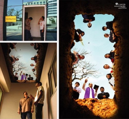 طرحی جالب برای اتاق افراد سیگاری