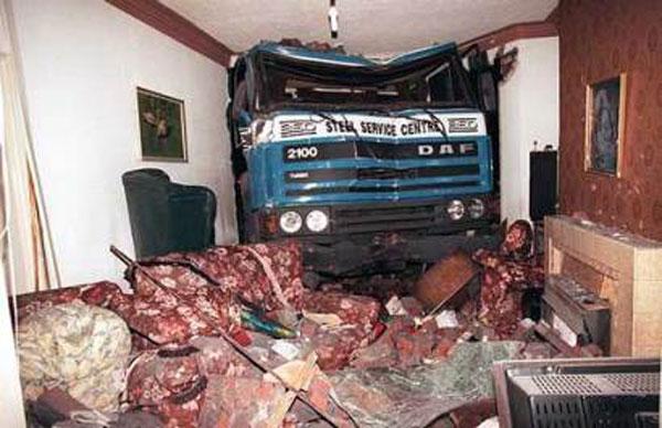 عکس هایی دیدنی از تصادفات عجیب و غریب