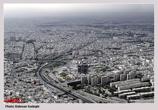 عکسهای تهران از بالای برج میلاد ، www.irannaz.com