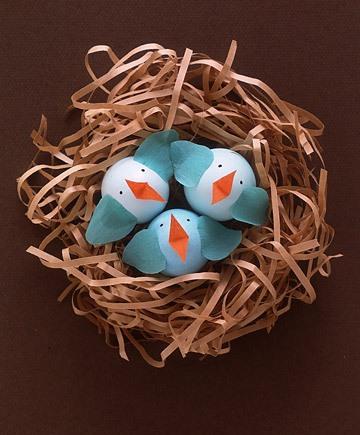 تخم مرغهای رنگ شده برای هفت سین