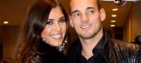 عكسهای همسران فوتبالیست ها در جام جهانی