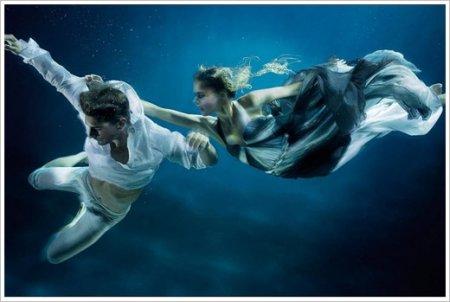 عکس های هنری زیر آب !!