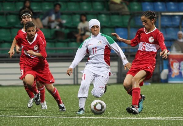 عکسهای بازی تیم فوتبال بانوان ایران و تركیه