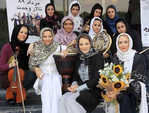 اولین گروه دخترانه موسیقی پاپ در ایران!!