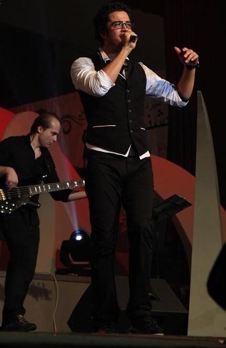 عکسهای کنسرت بنیامین در كیش