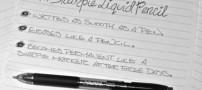 مداد مایع: نوشتن با ماندگاری خودکار و قابلیت پاک شدن مداد!