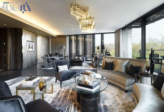 گرانترین پنت هاوس جهان در لندن (210 میلیارد)