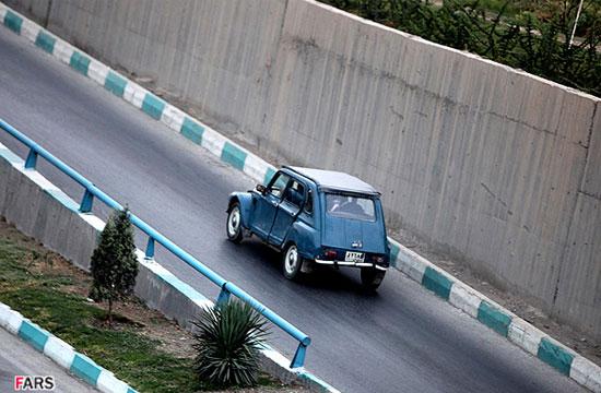 اتومبیلی که فقط در اصفهان یافت می شود!!