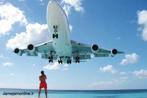 ده عكس جالب از هواپیماها