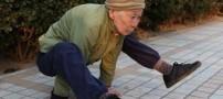 عکس هایی بسیار دیدنی از یک پیرزن 82 ساله!!